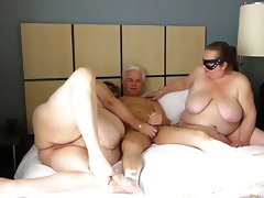 Chubby Threesome Sex